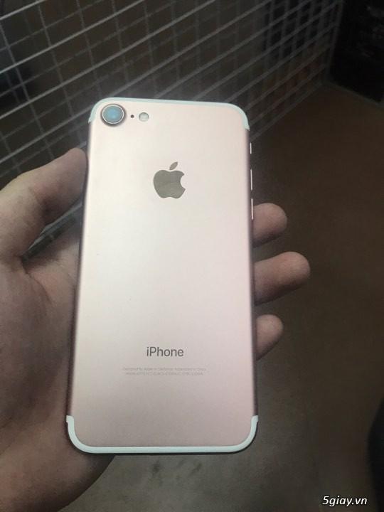 Iphone7 LOCK hồng còn bảo hành gần 1 năm