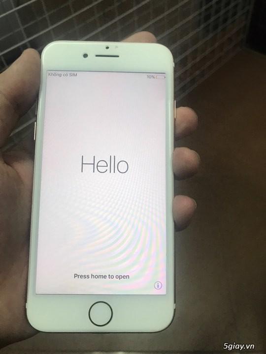 Iphone7 LOCK hồng còn bảo hành gần 1 năm - 1