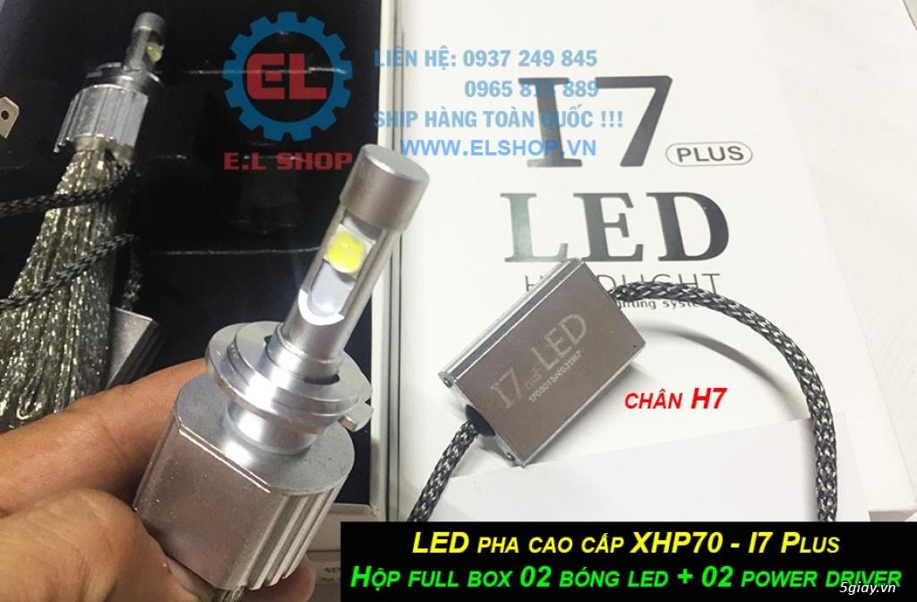 E.L SHOP - Đèn Led siêu sáng xe ô tô: XHP70, XHP50, Philips Lumiled, gương cầu xenon... - 2