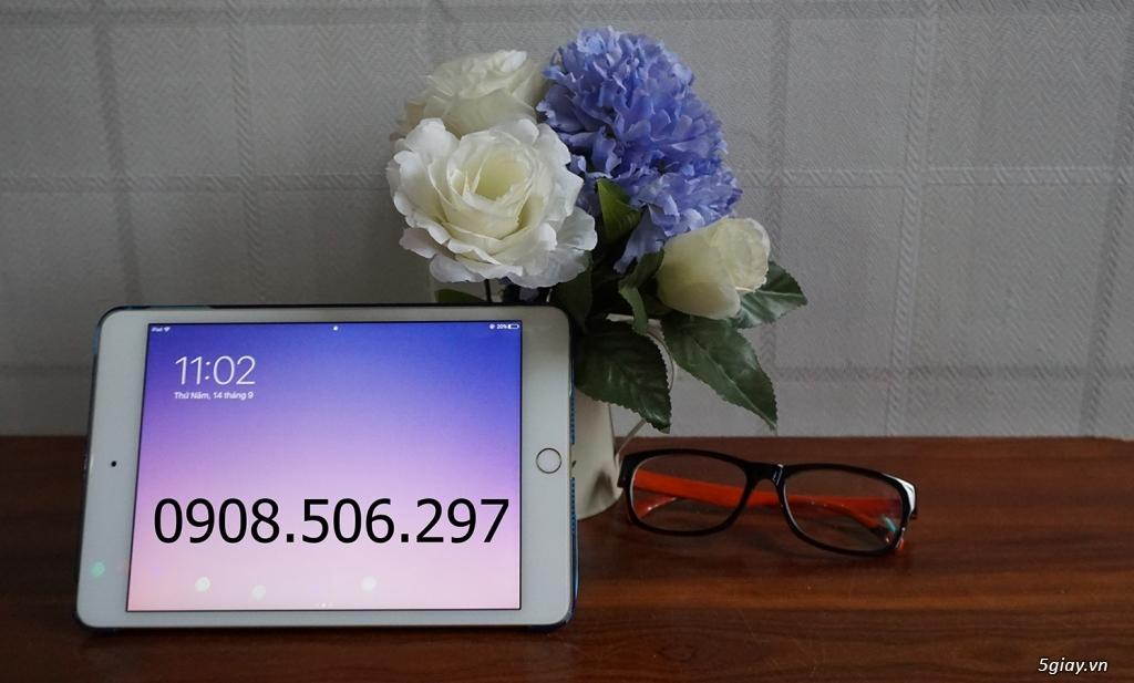 Ipad mini 4 GOLD 128 GB - Chính Hãng. FULL BOX .Like New 99%. Zin 100%