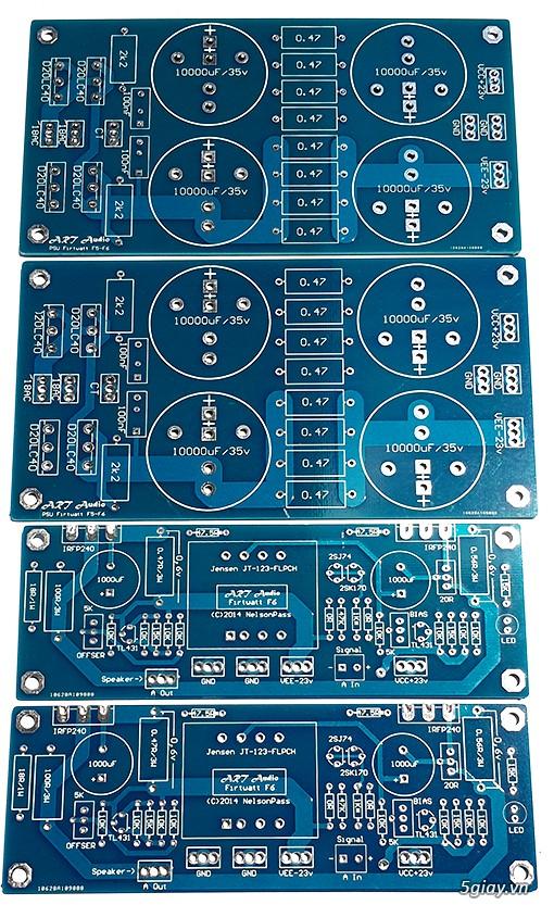 Linh kiện điện tử, PCB và DIY kit cho High-end Audio . ART Audio - 10