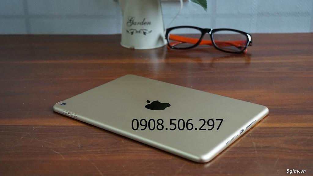 Ipad mini 4 GOLD 128 GB - Chính Hãng. FULL BOX .Like New 99%. Zin 100% - 3