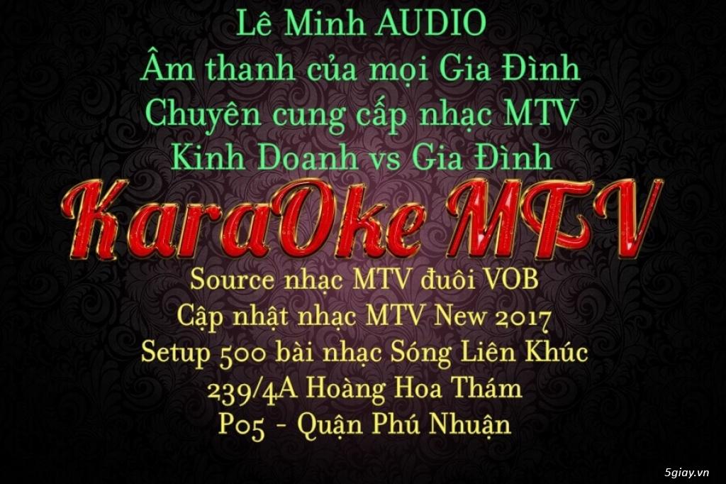 Dịch vụ chép nhạc KaraOke MTV
