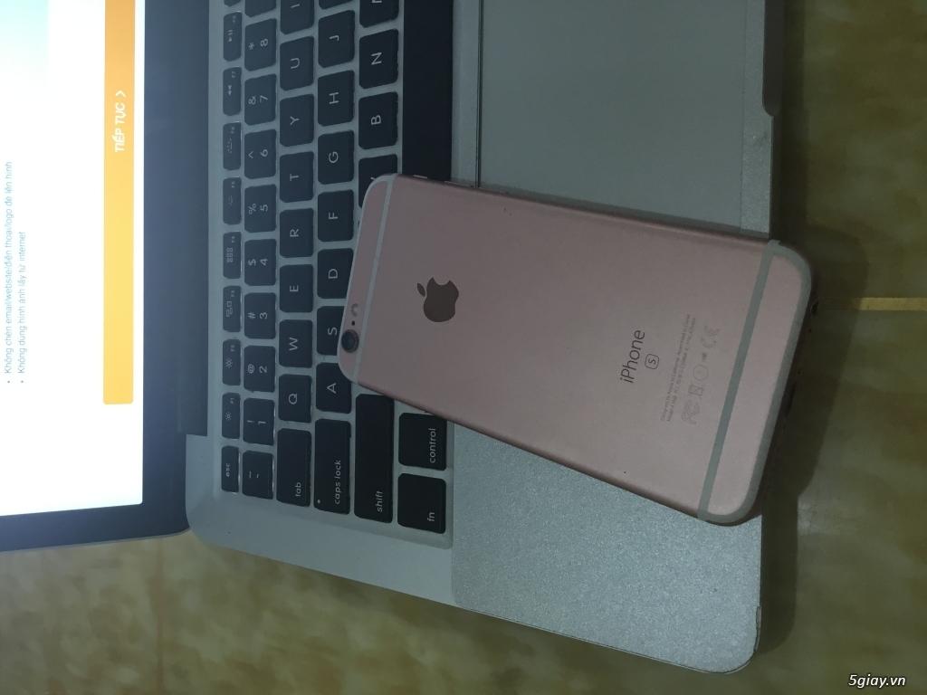 Bán gấp iPhone 6s Rose Lock có vân tay - 2
