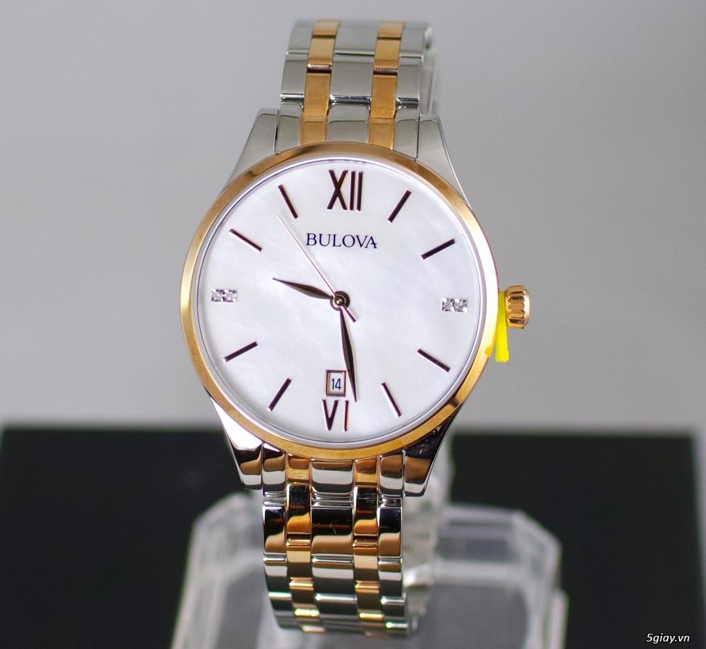 Đồng hồ nữ xách tay chính hãng Seiko,Bulova,Hamilton,MontBlanc,MK,.. - 17