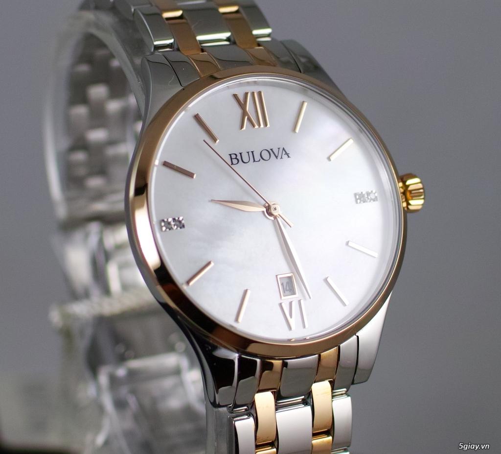 Đồng hồ nữ xách tay chính hãng Seiko,Bulova,Hamilton,MontBlanc,MK,.. - 20