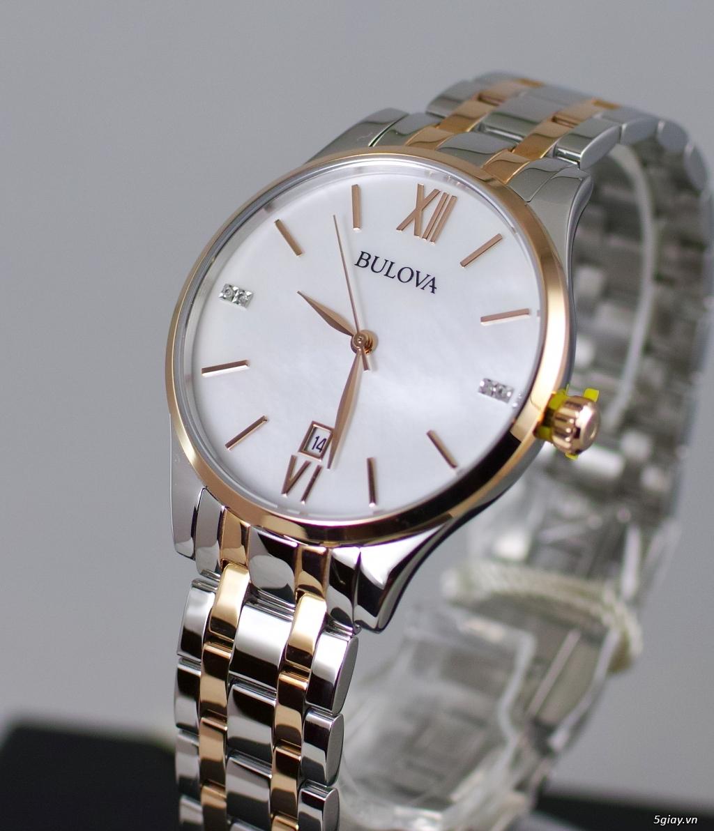 Đồng hồ nữ xách tay chính hãng Seiko,Bulova,Hamilton,MontBlanc,MK,.. - 18