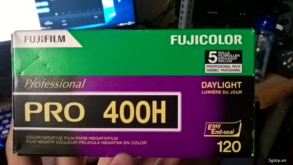 [HCM] Fujifilm Fujicolor Pro 400H (hộp 5 rolls chưa khui)