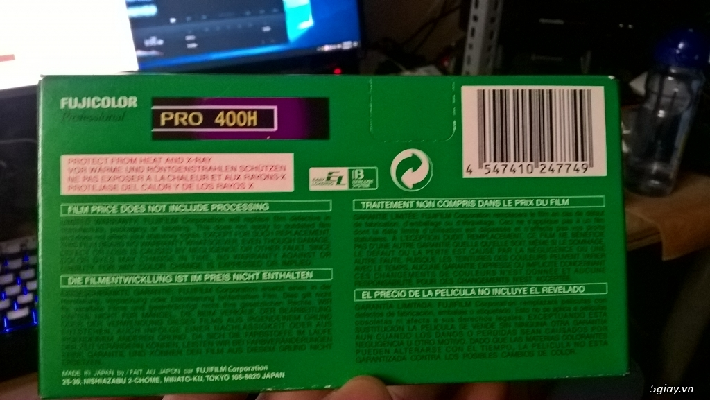 [HCM] Fujifilm Fujicolor Pro 400H (hộp 5 rolls chưa khui) - 1