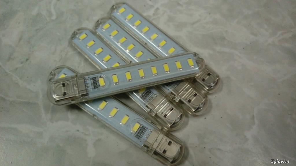 Đèn LED chiếu sáng thay cho đèn cầy,nến khi cúp điện