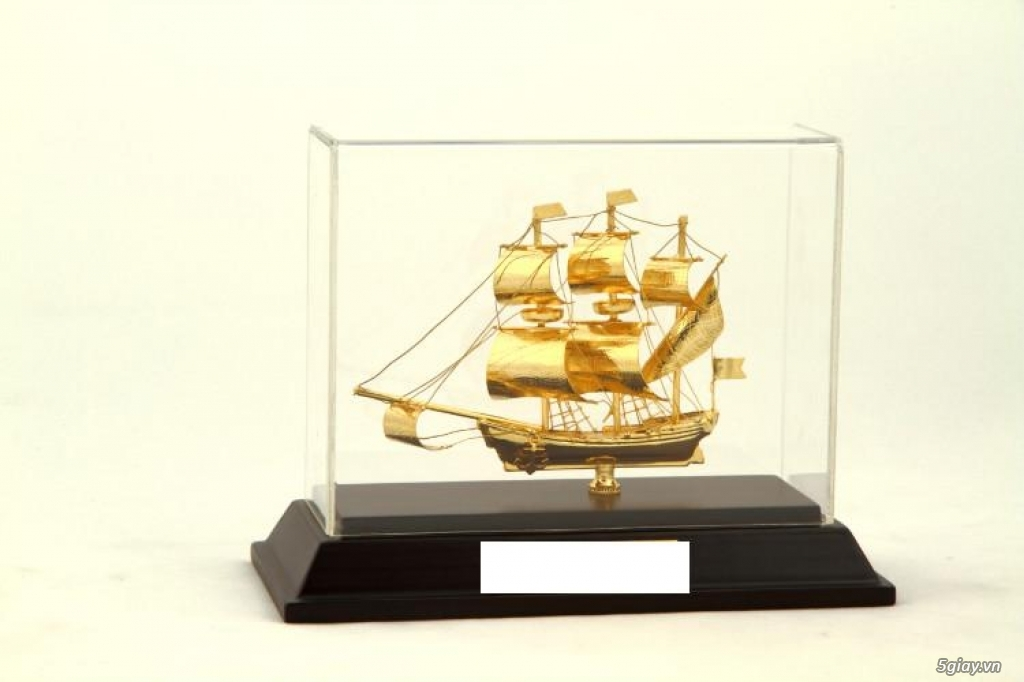 Chuyên bán mô hình các loại - Mô hình thuyền buồm bằng đồng - 7