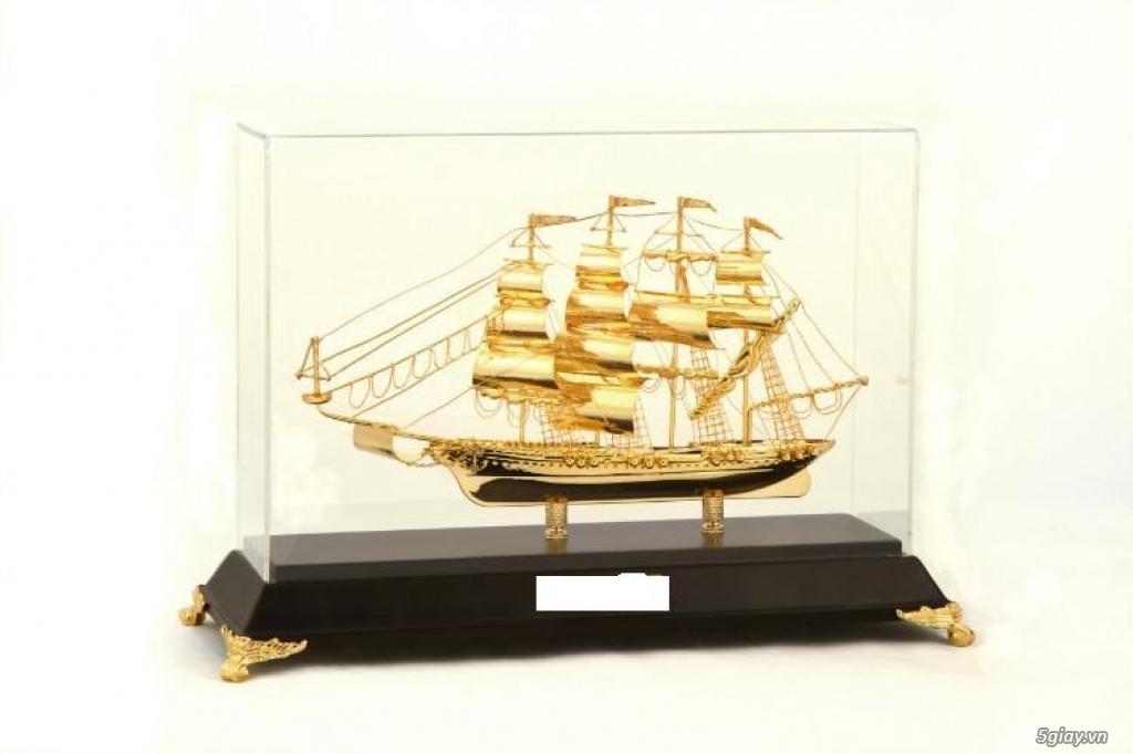 Chuyên bán mô hình các loại - Mô hình thuyền buồm bằng đồng - 6