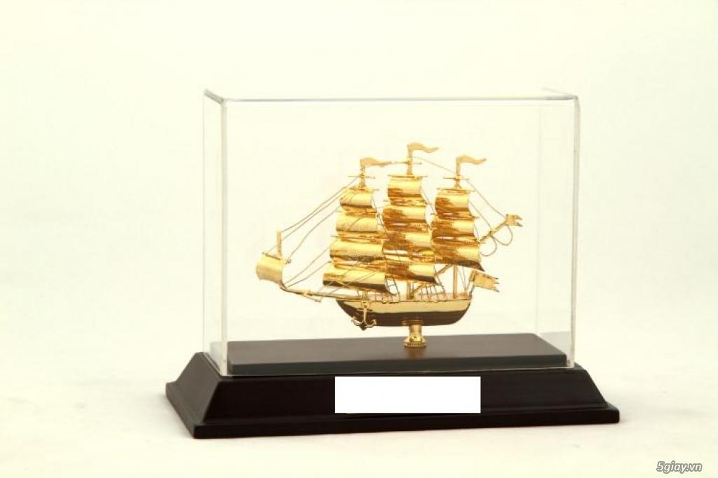 Chuyên bán mô hình các loại - Mô hình thuyền buồm bằng đồng - 10