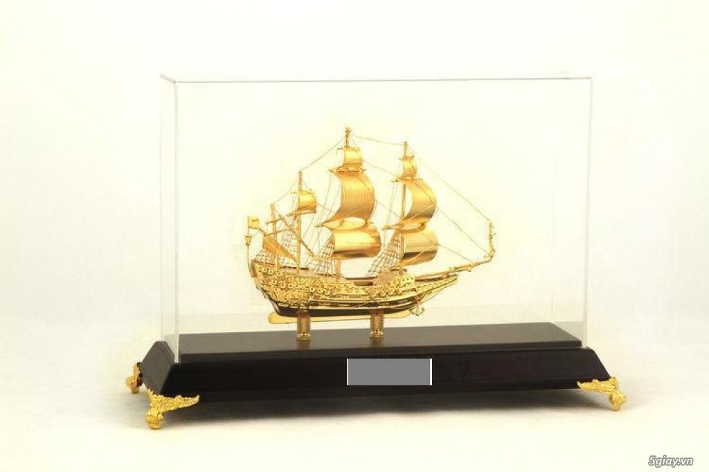 Chuyên bán mô hình các loại - Mô hình thuyền buồm bằng đồng - 4