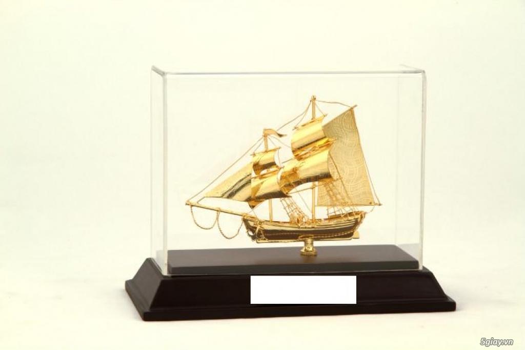 Chuyên bán mô hình các loại - Mô hình thuyền buồm bằng đồng - 9