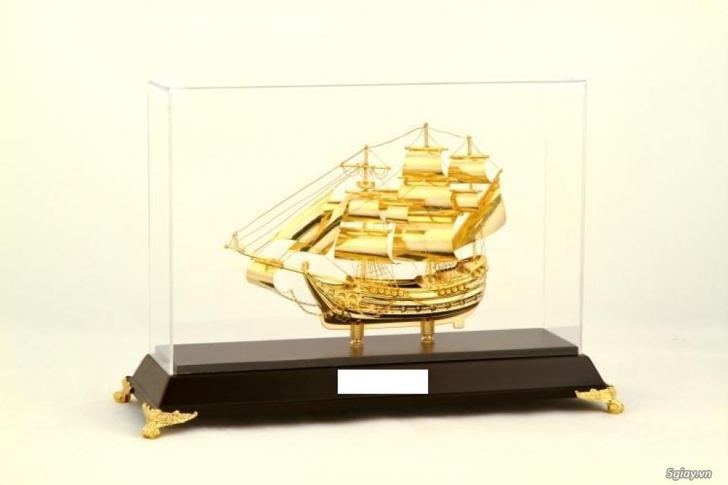 Chuyên bán mô hình các loại - Mô hình thuyền buồm bằng đồng - 2