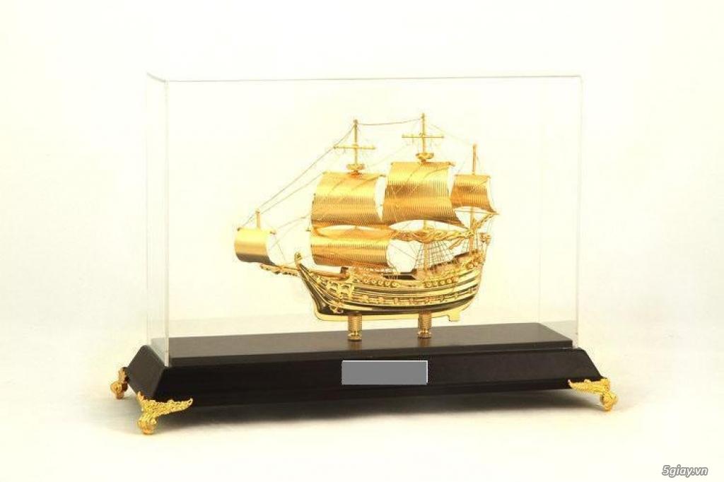 Chuyên bán mô hình các loại - Mô hình thuyền buồm bằng đồng - 3