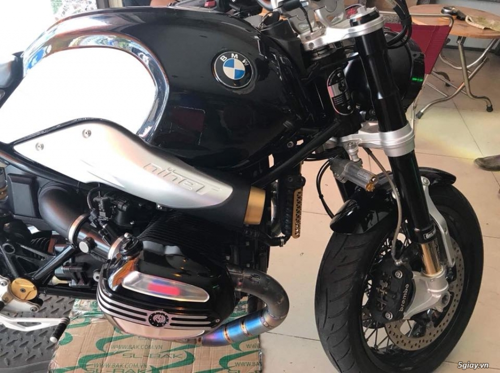 Ban BMW R Nine T Roadster ABS 2015 nhieu do choi - 21