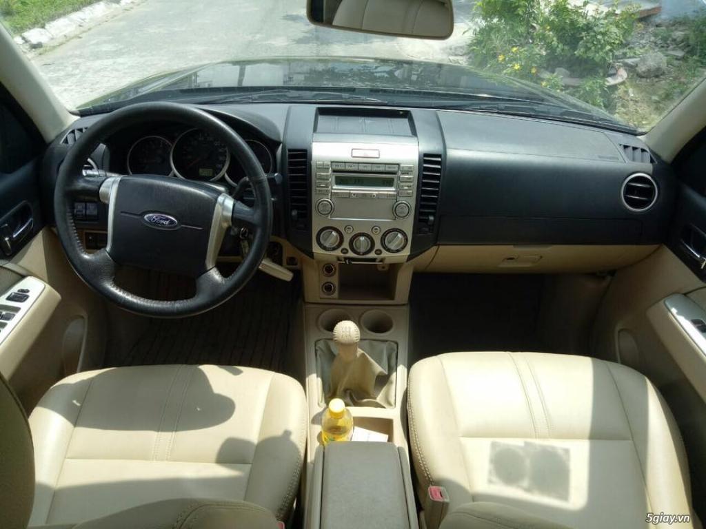 EVEREST 2.5L 2011 số sàn máy dầu xe đẹp bảo hành chính hãng 1 năm - 6