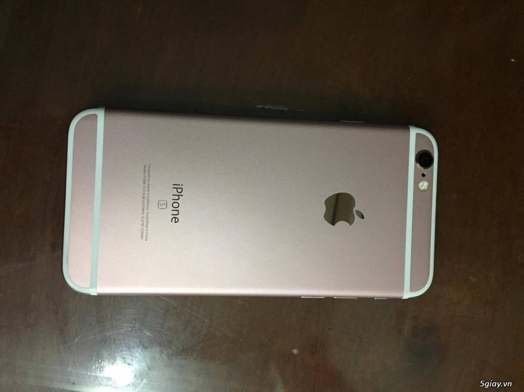 iphone 6s hồng q.tế zin mới 99% bảo hành 12 tháng