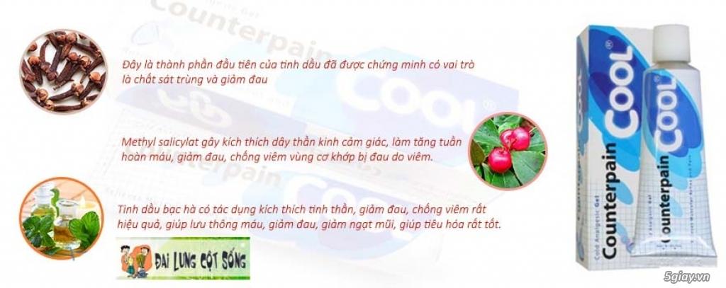 Dầu Xoa Bóp Counterpain Thái lan - 6