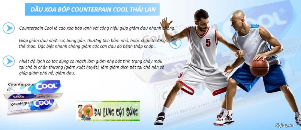 Dầu Xoa Bóp Counterpain Thái lan - 4