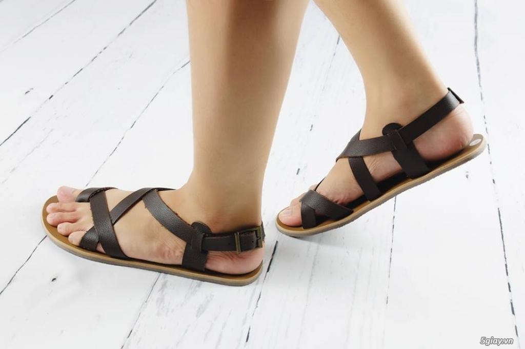 GoLe - Giày Sandal  Nam Thiết Kế Da Bò