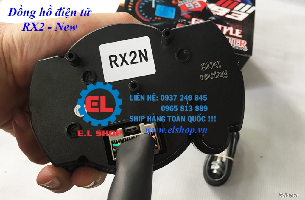 E.L SHOP - Đồng hồ điện tử cho xe máy, Koso, RX2N,... - 9