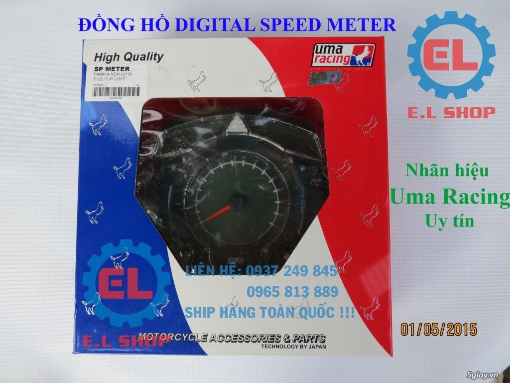 E.L SHOP - Đồng hồ điện tử cho xe máy, Koso, RX2N,... - 4