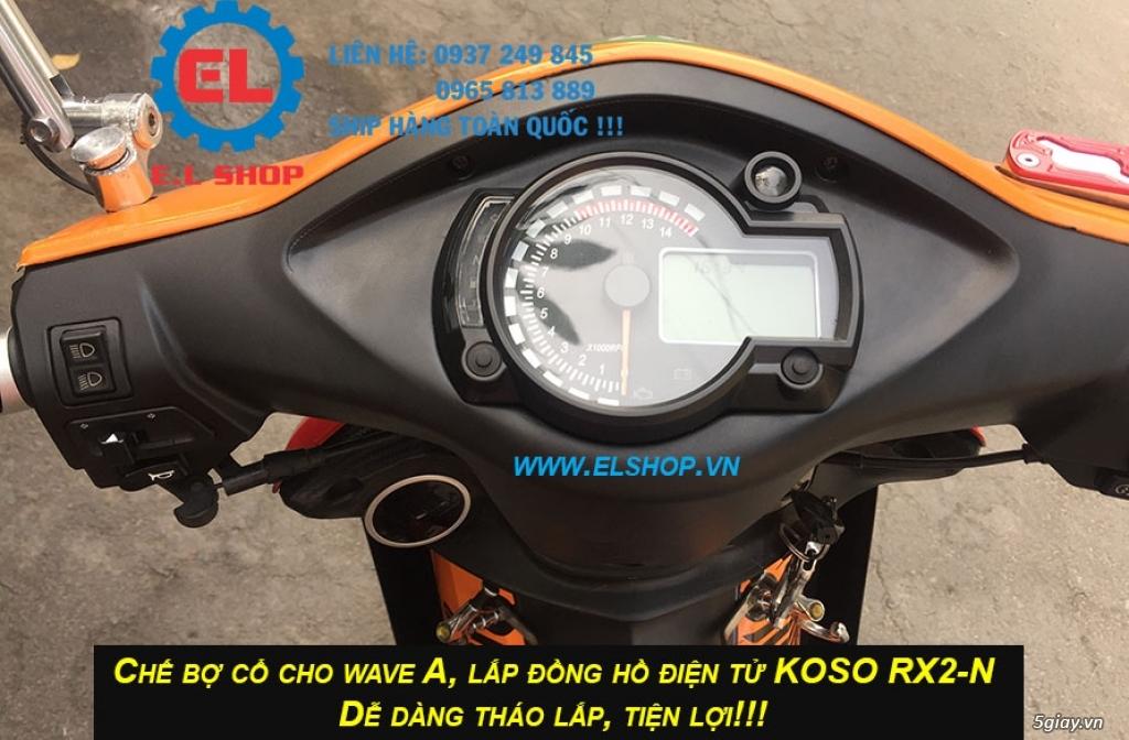 E.L SHOP - Đồng hồ điện tử cho xe máy, Koso, RX2N,... - 14