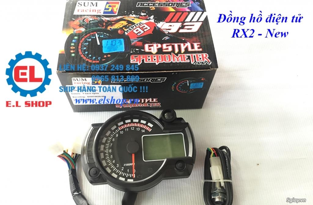 E.L SHOP - Đồng hồ điện tử cho xe máy, Koso, RX2N,... - 7