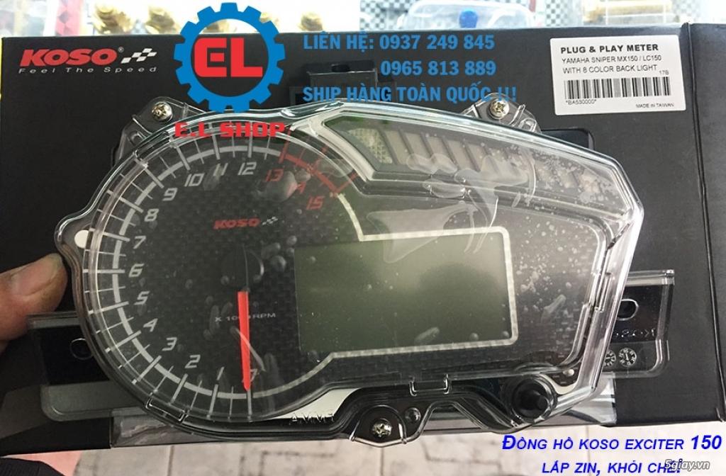 E.L SHOP - Đồng hồ điện tử cho xe máy, Koso, RX2N,...