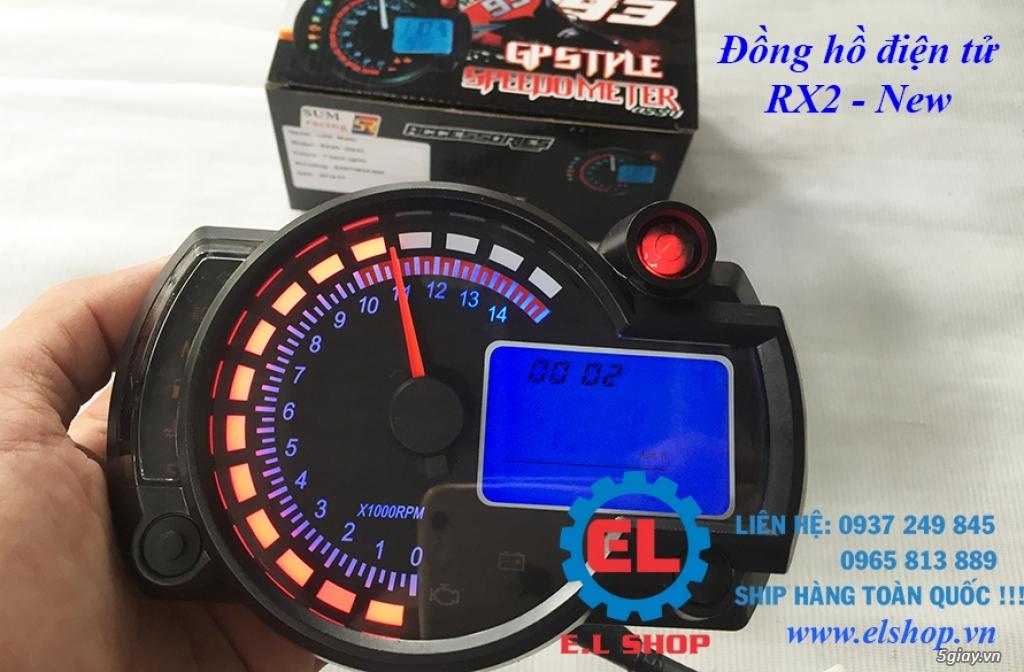 E.L SHOP - Đồng hồ điện tử cho xe máy, Koso, RX2N,... - 8