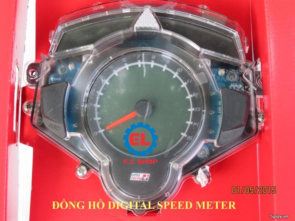 E.L SHOP - Đồng hồ điện tử cho xe máy, Koso, RX2N,... - 5