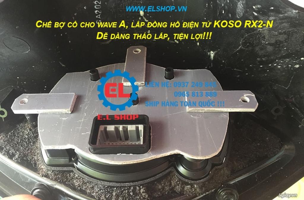 E.L SHOP - Đồng hồ điện tử cho xe máy, Koso, RX2N,... - 11