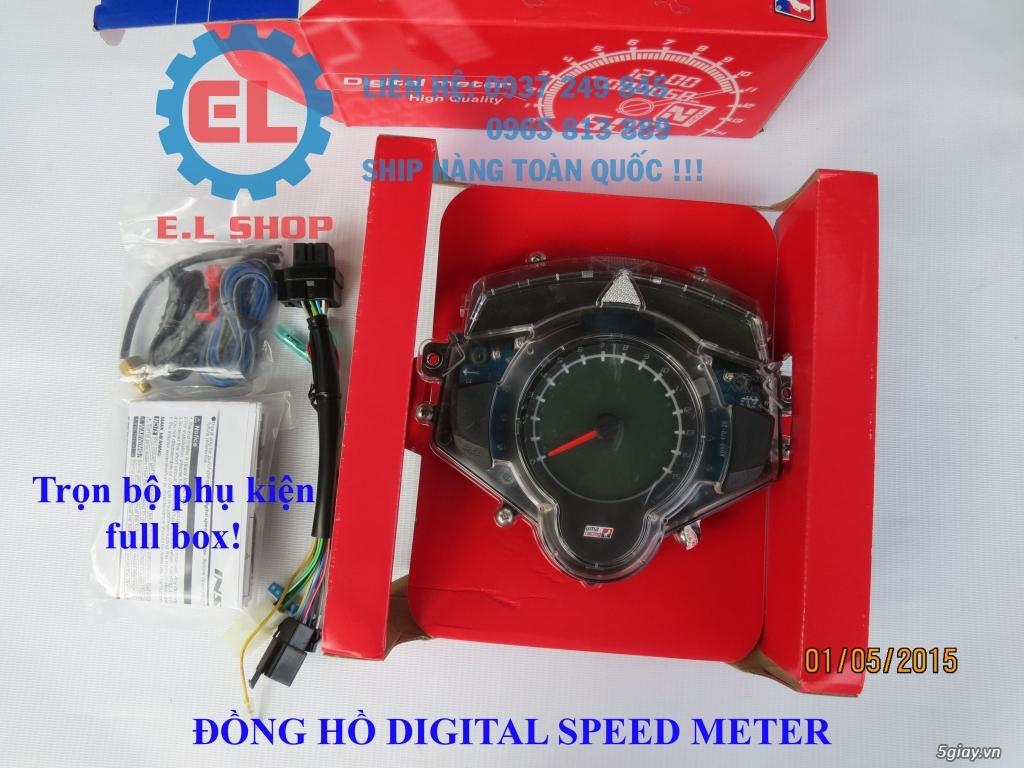E.L SHOP - Đồng hồ điện tử cho xe máy, Koso, RX2N,... - 6