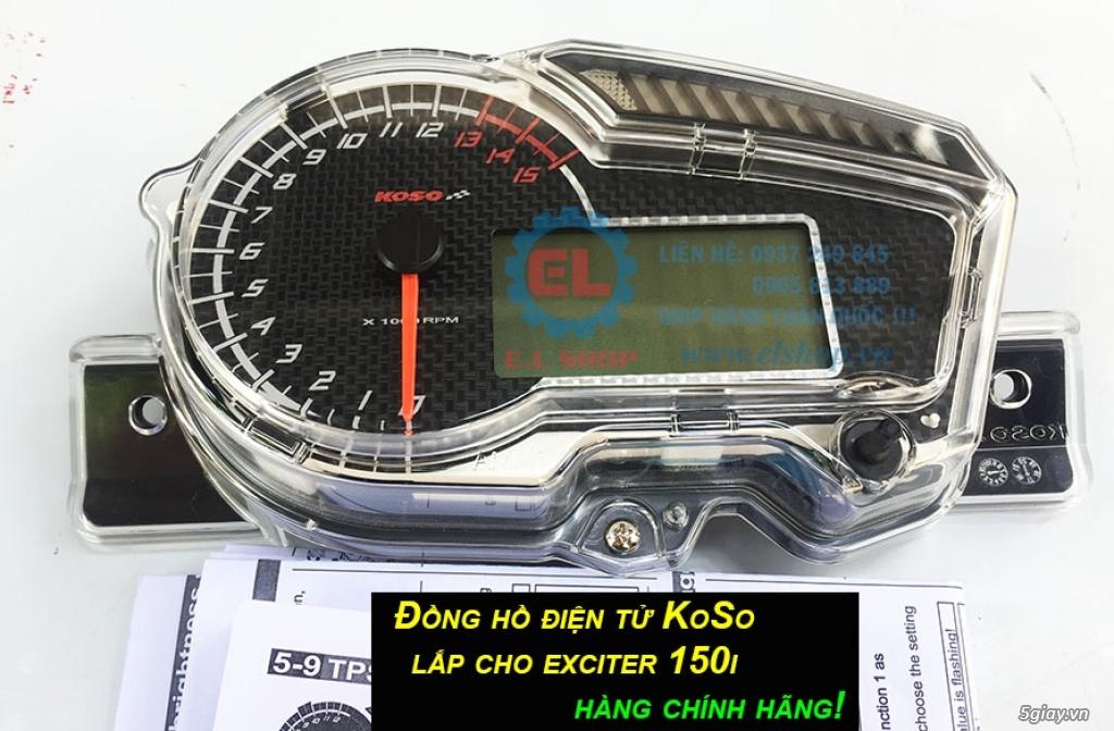 E.L SHOP - Đồng hồ điện tử cho xe máy, Koso, RX2N,... - 1