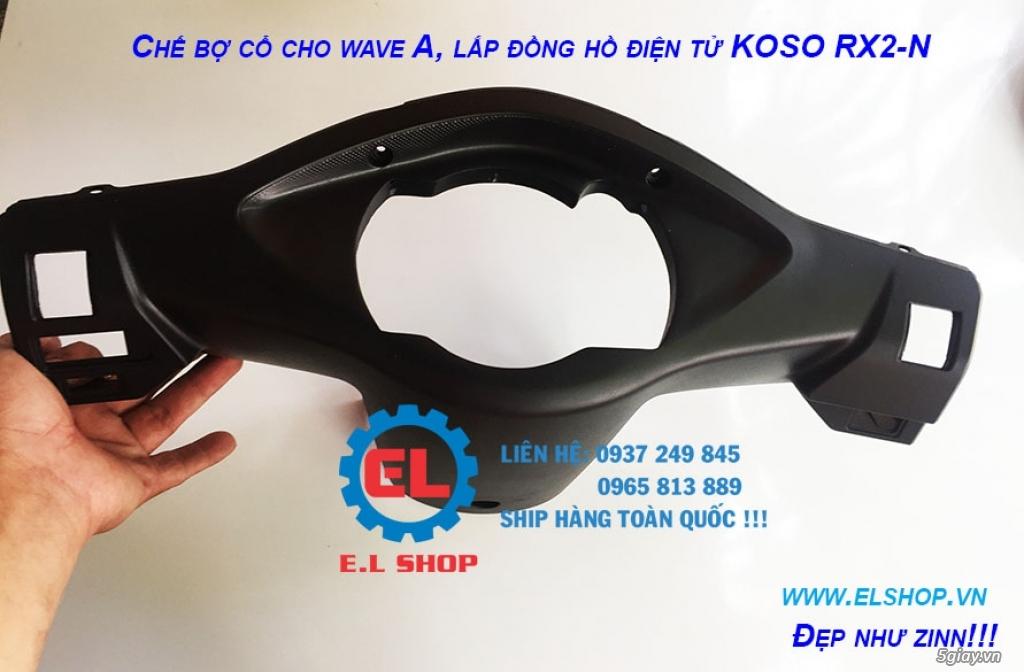 E.L SHOP - Đồng hồ điện tử cho xe máy, Koso, RX2N,... - 10