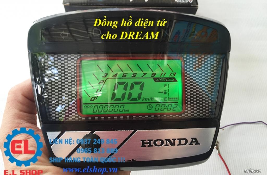 E.L SHOP - Đồng hồ điện tử cho xe máy, Koso, RX2N,... - 36