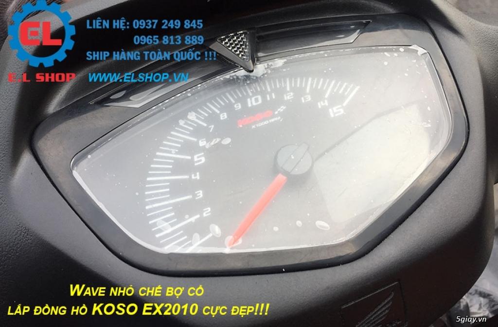 E.L SHOP - Đồng hồ điện tử cho xe máy, Koso, RX2N,... - 23