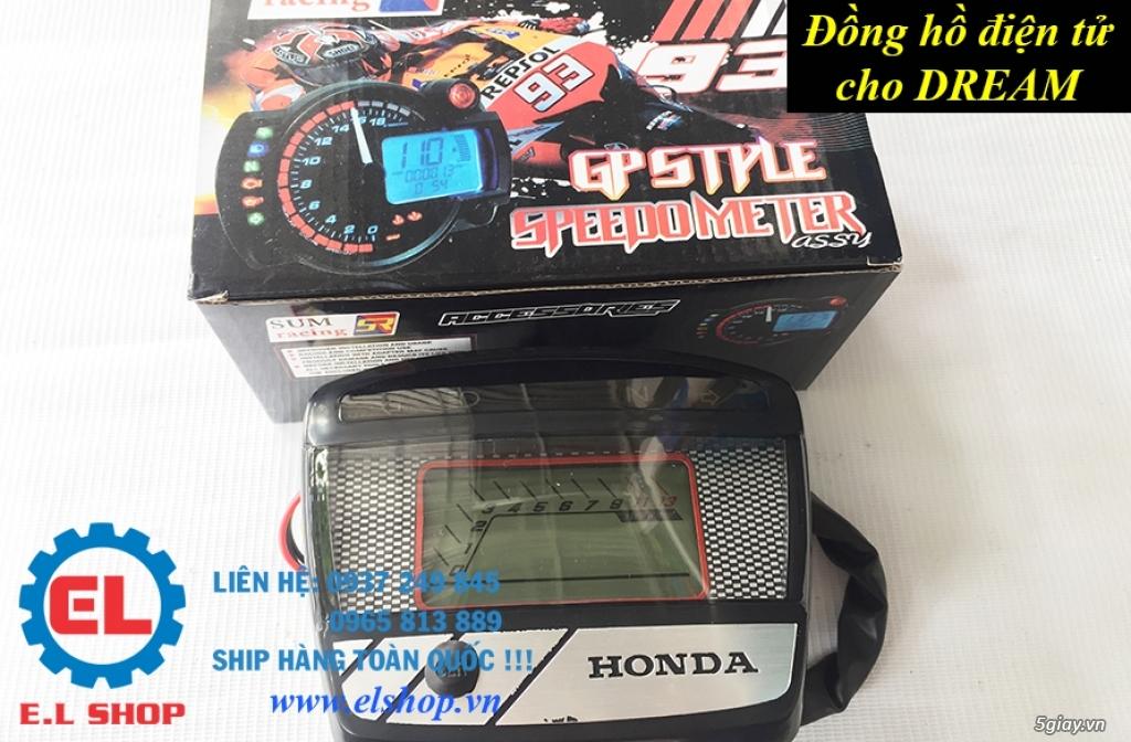 E.L SHOP - Đồng hồ điện tử cho xe máy, Koso, RX2N,... - 35