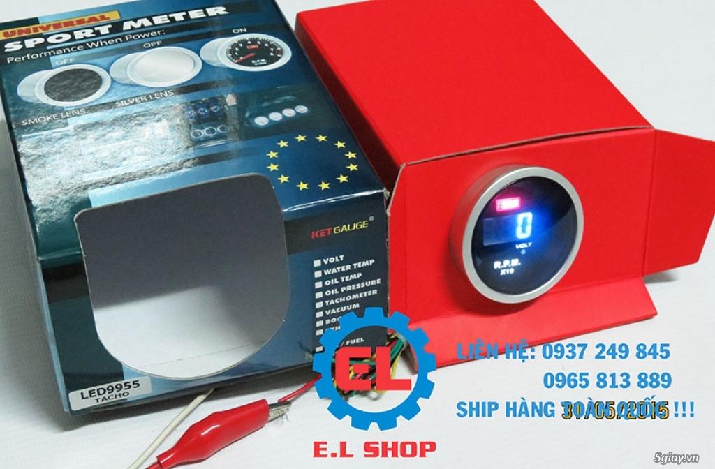 E.L SHOP - Đồng hồ điện tử cho xe máy, Koso, RX2N,... - 42