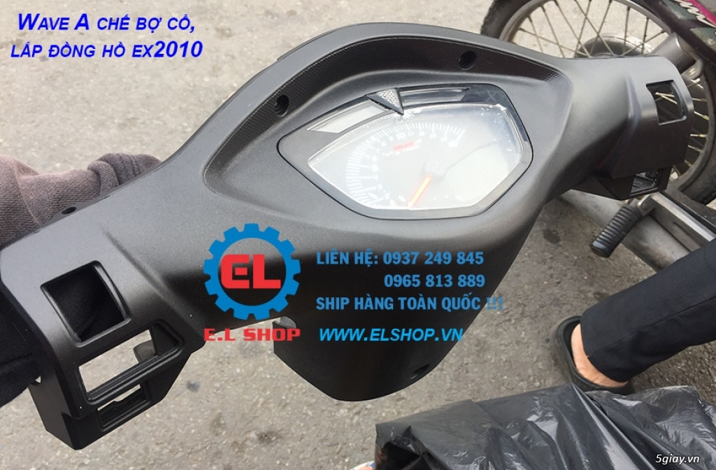 E.L SHOP - Đồng hồ điện tử cho xe máy, Koso, RX2N,... - 19