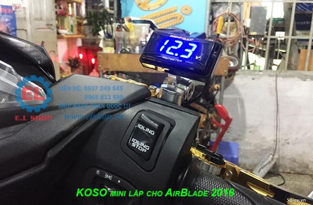 E.L SHOP - Đồng hồ điện tử cho xe máy, Koso, RX2N,... - 40