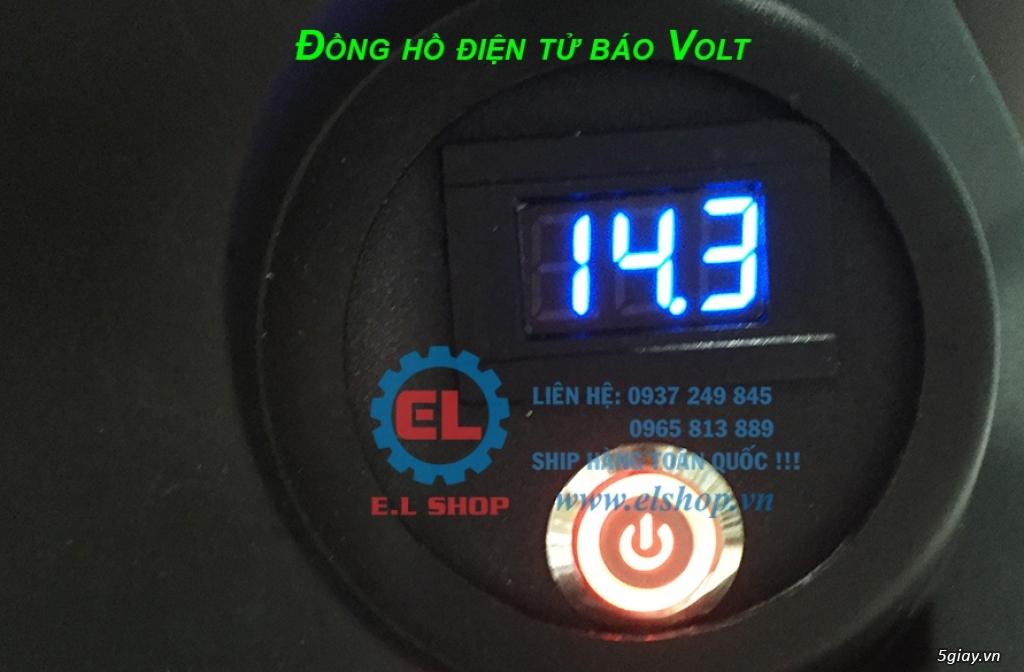 E.L SHOP - Đồng hồ điện tử cho xe máy, Koso, RX2N,... - 46