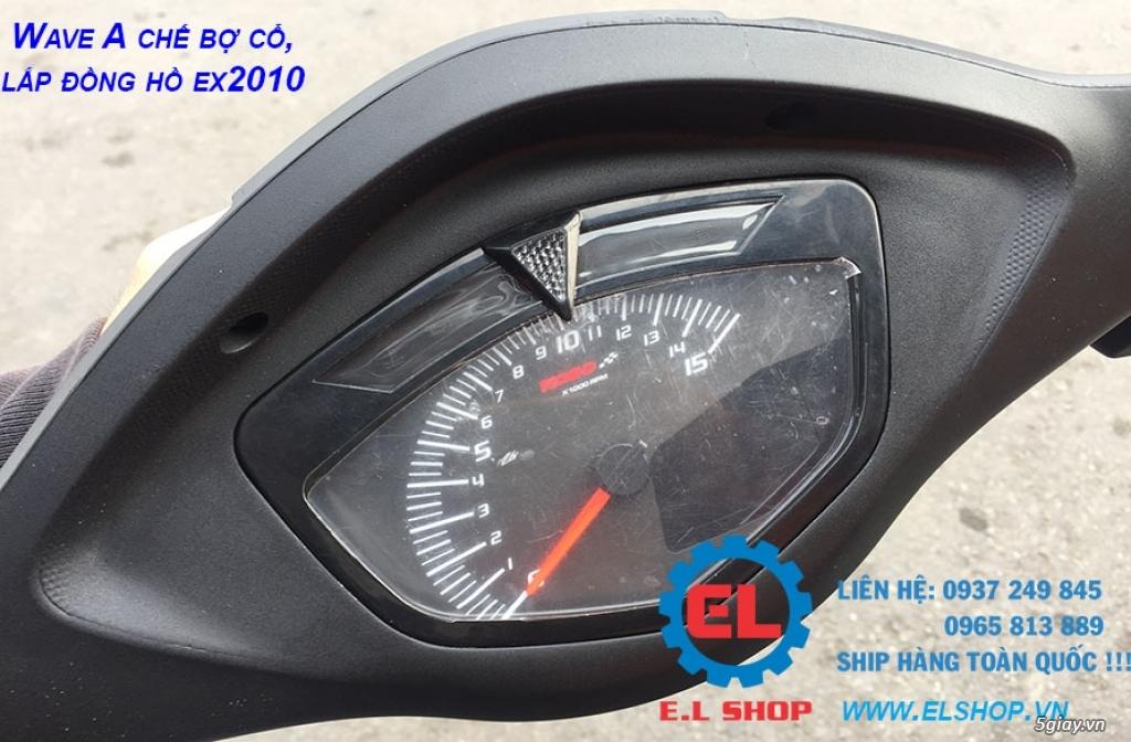 E.L SHOP - Đồng hồ điện tử cho xe máy, Koso, RX2N,... - 20