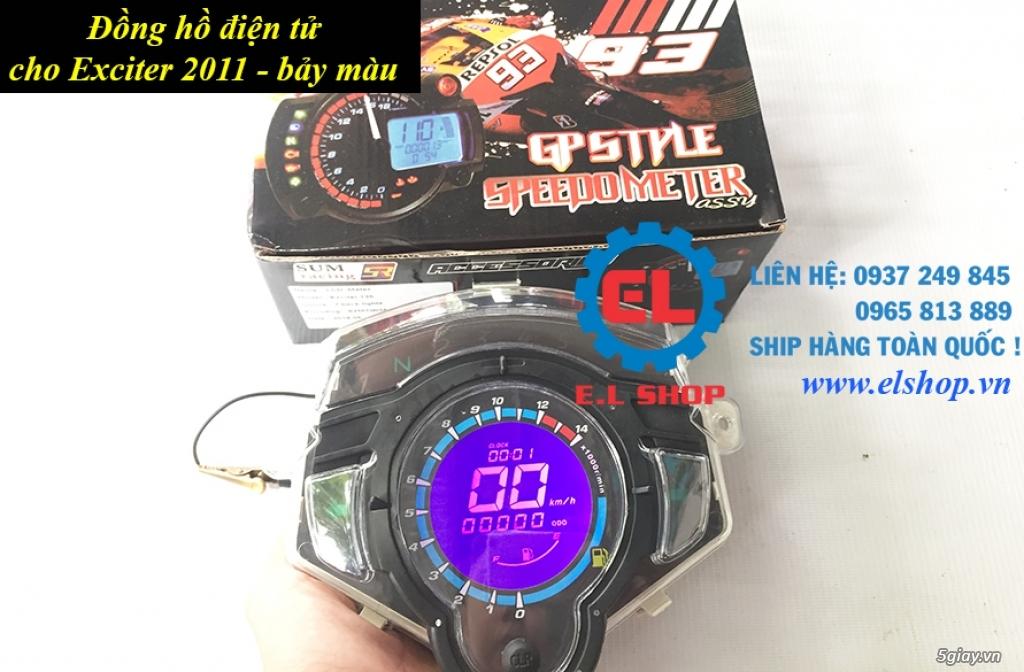 E.L SHOP - Đồng hồ điện tử cho xe máy, Koso, RX2N,... - 24