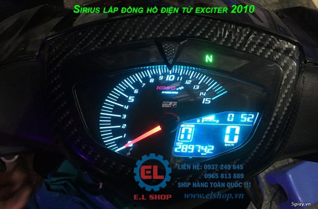 E.L SHOP - Đồng hồ điện tử cho xe máy, Koso, RX2N,... - 17