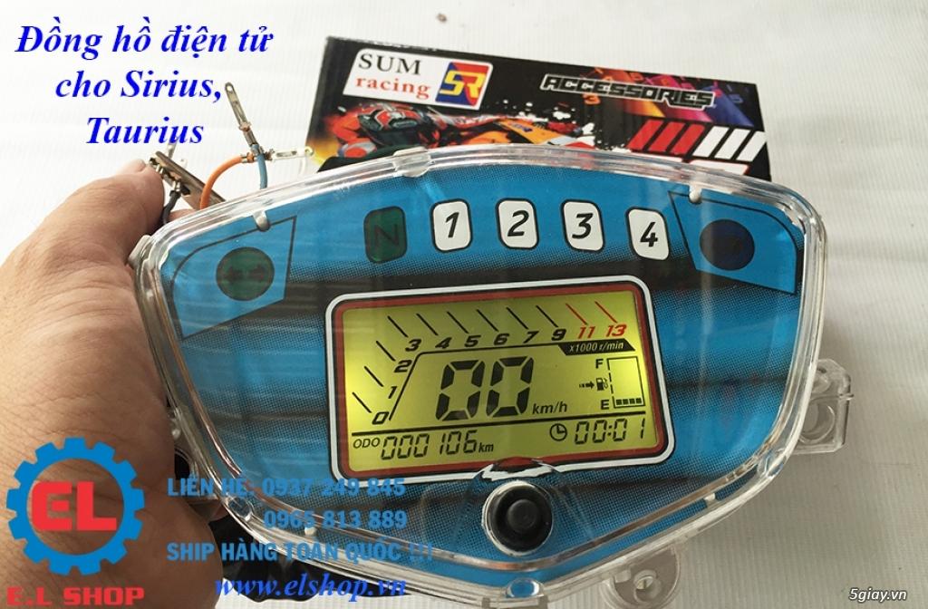 E.L SHOP - Đồng hồ điện tử cho xe máy, Koso, RX2N,... - 28