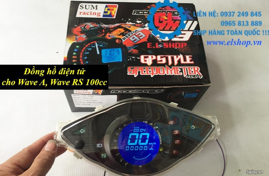 E.L SHOP - Đồng hồ điện tử cho xe máy, Koso, RX2N,... - 32